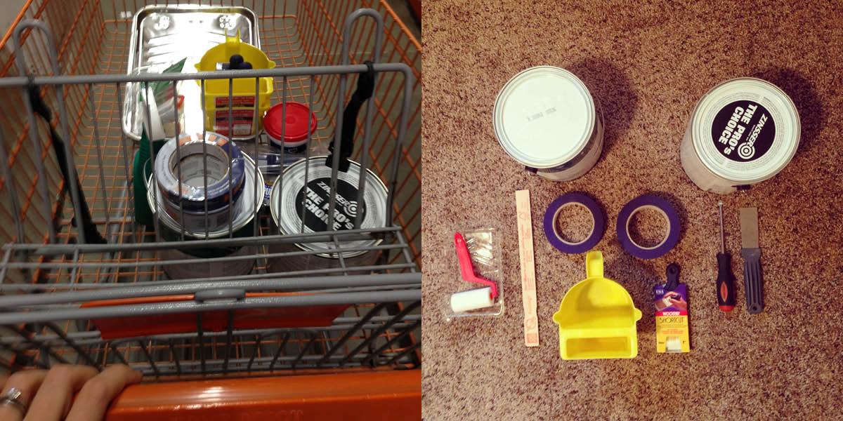 Painting Trim Supplies