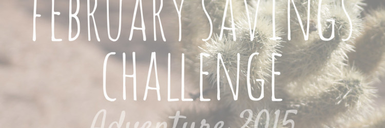 February Savings Challenge
