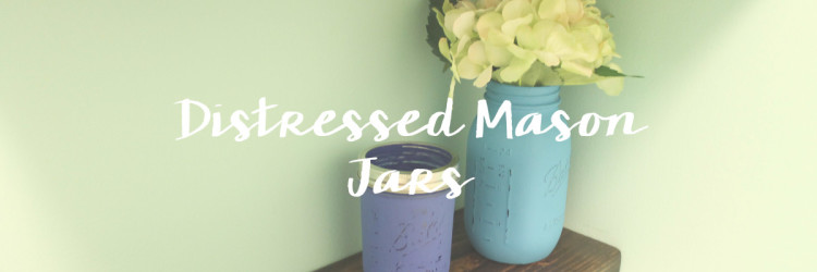 Laundry Room: Mason Jars